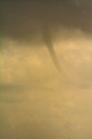 Water Spout over Bay St Louis  8-04-2015
